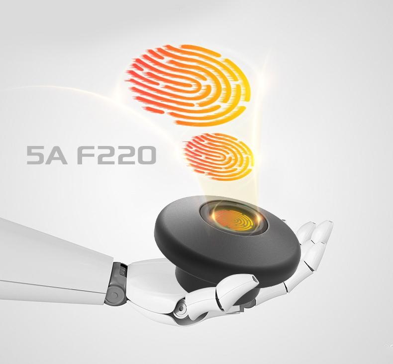 Smart interior fingerprint lock 5A F220