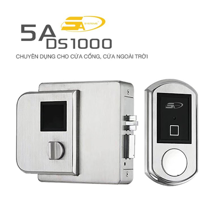 5A DS1000 - Waterproof fingerprint locks  for gates and apartments Accommodation
