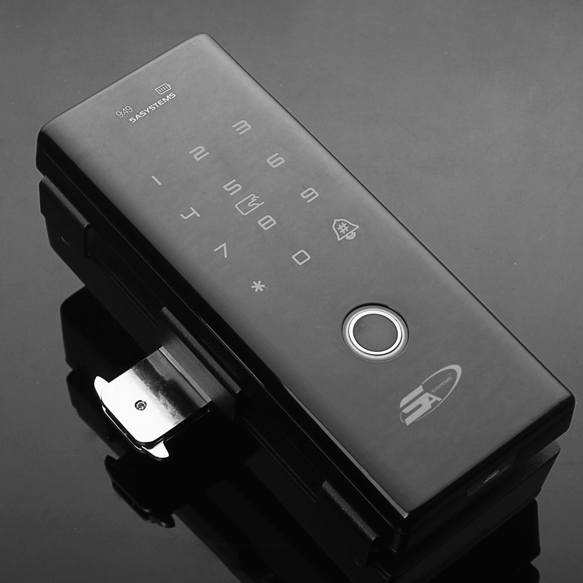 5A G9 PLUS - fingerprint lock for glass doors