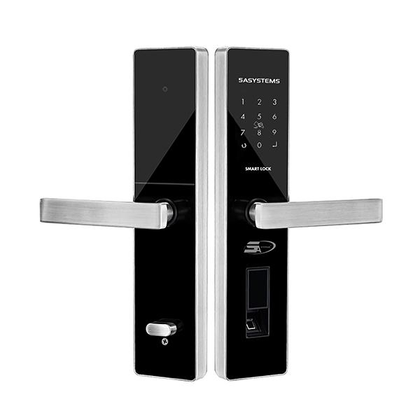 TS 7000 FINGERPRINT LOCK 5ASYSTEMS USA (SILVER)
